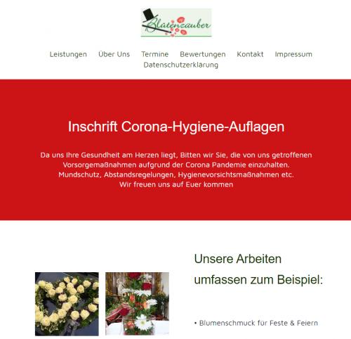 Firmenprofil von: Blütenzauber in Oberickelsheim – Ihre Floristik-Spezialisten