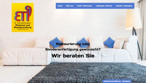 Firmenprofil von: Polsterei E. Türschmann – Der Meisterbetrieb in Münster