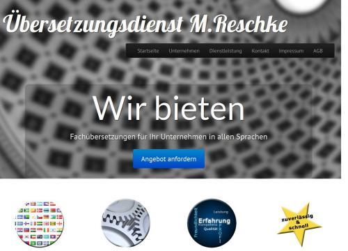 Firmenprofil von: Übersetzungsdienst M. Reschke in Gummersbach