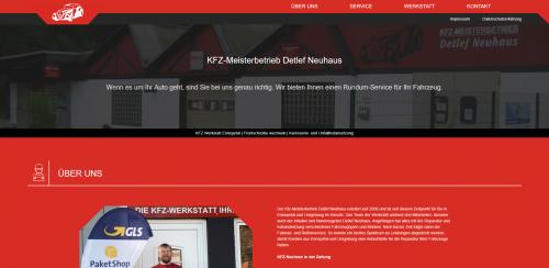 Firmenprofil von: Kfz-Meister mit Herz: Reparaturen vom Kfz-Meisterbetrieb Detlef Neuhaus