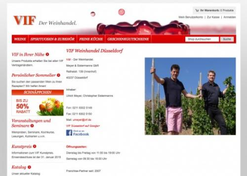 Firmenprofil von: VIF – Wein erleben in Düsseldorf