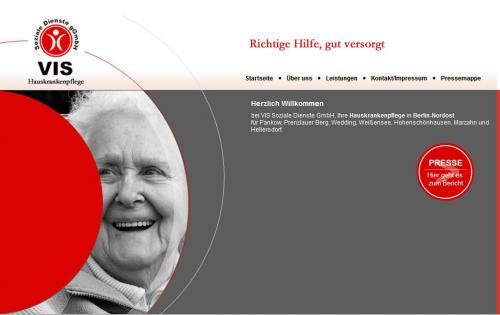 Firmenprofil von: Vis Soziale Dienste gGmbH in Berlin