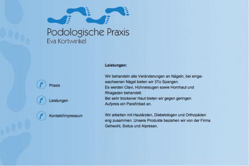Firmenprofil von: Fußpflege in Münster: Die Podologische Praxis Kortwinkel