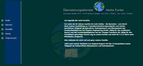 Firmenprofil von: Übersetzungsbüro in Bochum: Übersetzungsbüro Funke