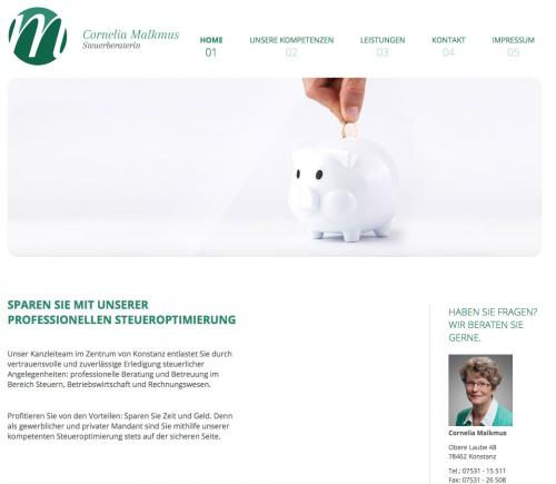 Firmenprofil von: Steuerbüro Cornelia Malkmus in Konstanz
