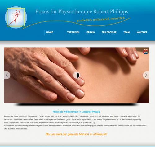 Firmenprofil von: Praxis für Physiotherapie und Osteopathie Philipps in Karlsruhe
