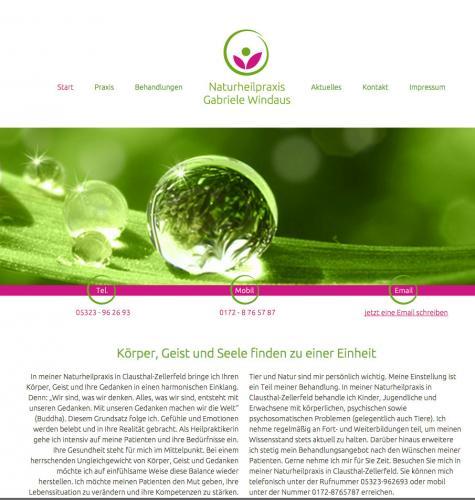 Firmenprofil von: Naturheilpraxis Gabriele Windaus in Clausthal-Zellerfeld