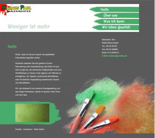 Firmenprofil von: Maler in Mainz: Malermeister Marcus Paul
