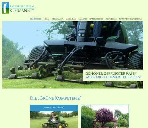Firmenprofil von: Rasenpflege in Nordwalde: Rasenpflegetteam Rene Kleimann