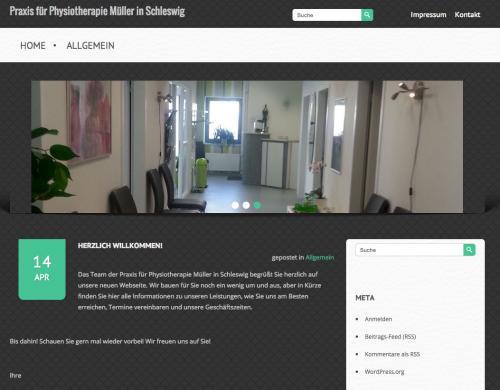 Firmenprofil von: Praxis für Physiotherapie Müller in Schleswig