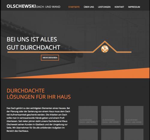 Firmenprofil von: Dachdeckerei in Gladbeck: Dachdeckermeister Klaus Olschewski
