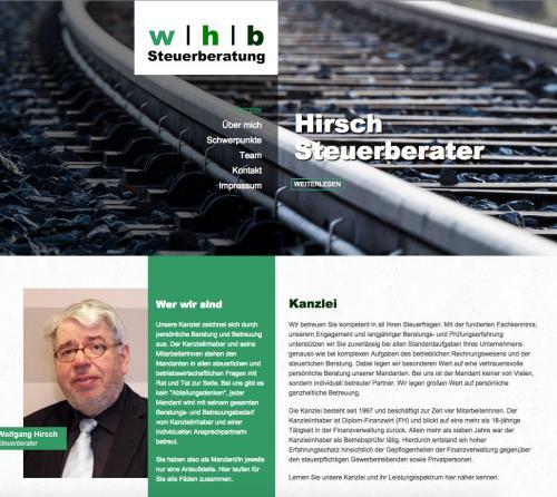 Firmenprofil von: Steuerberater Hirsch in Butjadingen