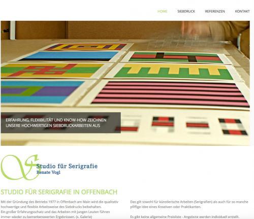 Firmenprofil von: Studio für Serigrafie Renate Vogl in Offenbach