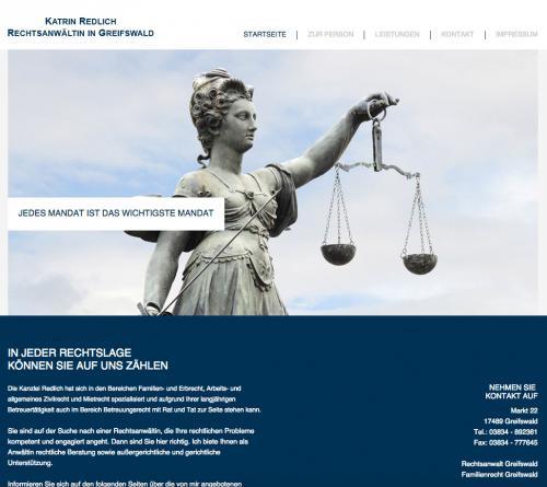 Firmenprofil von: Rechtsanwältin in Greifswald