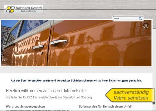 Firmenprofil von: Kfz-Sachverständigenbüro Reinhard Brandt in Düsseldorf