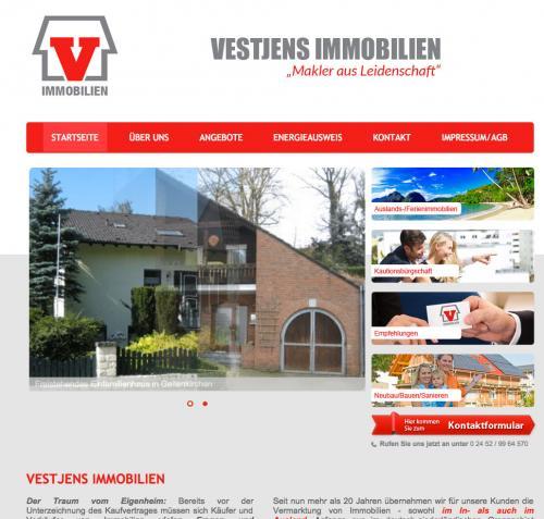 Firmenprofil von: Vestjens Immobilien in Heinsberg