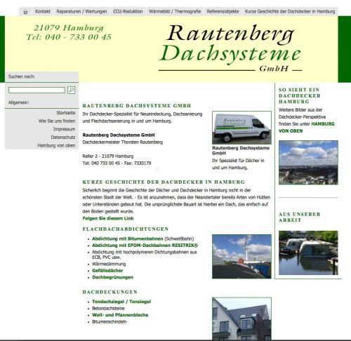Firmenprofil von: Rautenberg Dachsysteme GmbH in Hamburg