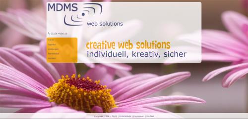 Firmenprofil von: MDMS websolutions: Ihr Weg zur professionellen Website