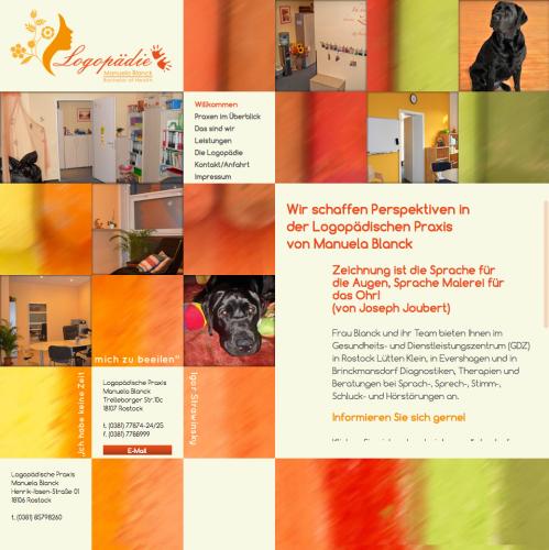 Firmenprofil von: Logopädie in Rostock: Manuela Blanck