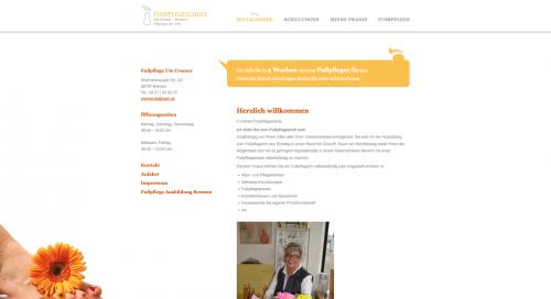 Firmenprofil von: Fußpflege Ute Cramer in Bremen