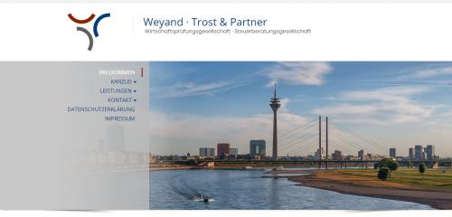 Firmenprofil von: Die Steuerberater Ihres Vertrauens: Weyand Trost und Partner mbB Wirtschaftsprüfungsgesellschaft Steuerberatungsgesellschaft in Düsseldorf