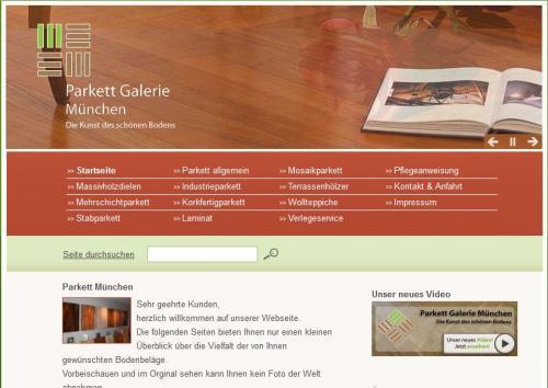 Firmenprofil von: Parkett Galerie München GmbH – Die Kunst des schönen Bodens