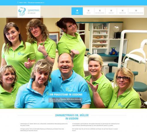 Firmenprofil von: Zahnarztpraxis Dr. Müller in Usedom