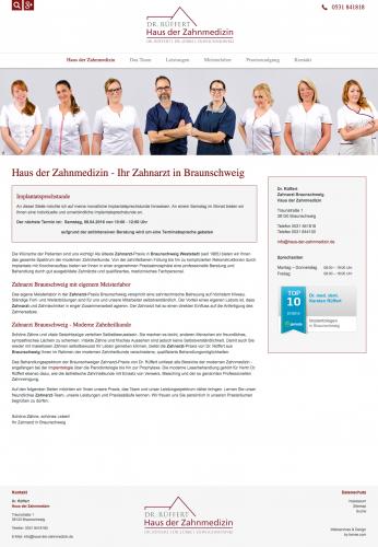 Firmenprofil von: Dr. Rüffert Haus der Zahnmedizin aus Braunschweig