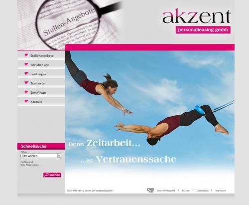 Firmenprofil von: akzent personalleasing gmbh in Nürnberg