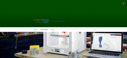 Firmenprofil von: 3D-Drucker von Ultimaker in München: Beta2Shape UG