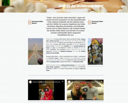 Firmenprofil von: Aufregende Abenteuertour im Land der vielen Gesichter: Amazing Indien Reisen