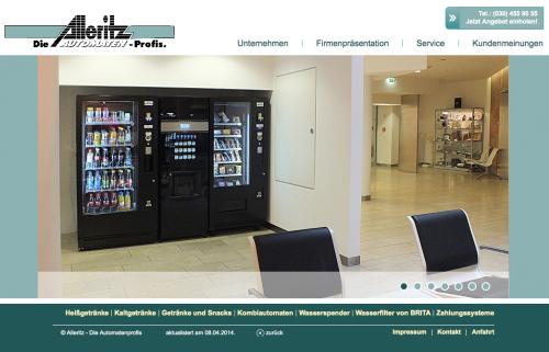 Firmenprofil von: Automatenservice: Alleritz-Automaten in Berlin