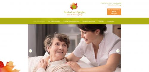 Firmenprofil von: Liebevoller Pflegedienst in Bergen auf Rügen: Ambulanter Alten- und Krankenpflegedienst M. Pfeiffer