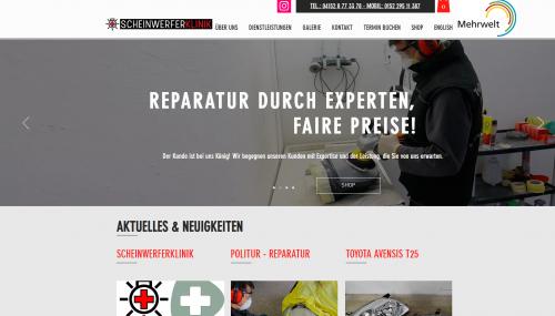 Firmenprofil von: Aufbereitungsservice für Ihre Scheinwerfer: ScheinwerferKlinik UG