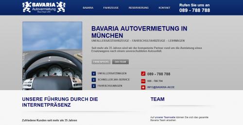 Firmenprofil von: Bavaria Autovermietung Klaus Hoyer OHG: Ihr Partner für Mietwagen in München