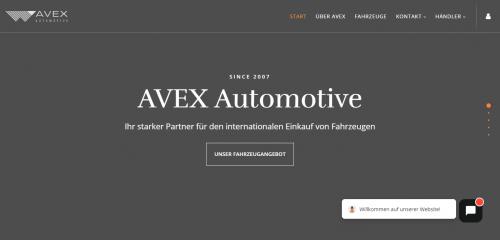 Firmenprofil von: Der Fahrzeuggroßhandel Ihres Vertrauens: AVEX Automotive in Hamburg