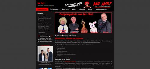 Firmenprofil von: Professionellen Bauchredner buchen – Mr. Hart und seine Bauchrednerpuppen