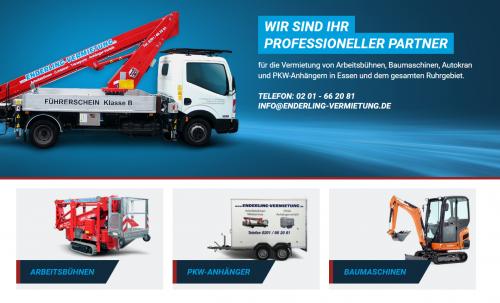 Firmenprofil von: Enderling Vermietung KG: Autokranvermietung nahe Gelsenkirchen