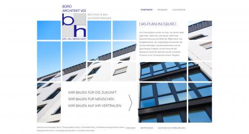 Firmenprofil von: Erfahrener Architekt in Köln: Diplom-Ingenieur Bernd Heep
