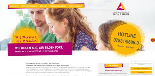 Firmenprofil von: Ihr Partner für soziale Fortbildungsmöglichkeiten in Offenburg: Paritätische Berufsfachschule für Sozial- und Pflegeberufe gGmbH