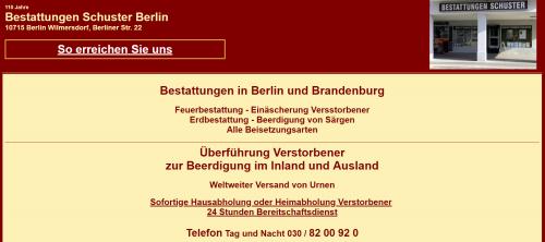 Firmenprofil von: Feuerbestattung in Berlin: Vertrauensvolle Beratung in schwierigen Zeiten