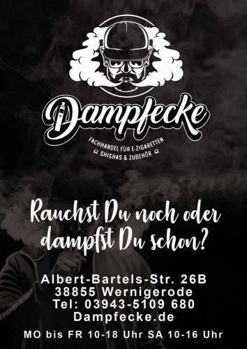 Firmenprofil von: Bestes Liquid in Wernigerode dampfen: Dampfecke.de