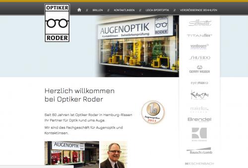 Firmenprofil von: Optiker Roder in Hamburg-Rissen sorgt für den richtigen Durchblick