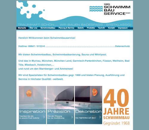 Firmenprofil von: SBS Schwimmbauservice GmbH in Murnau