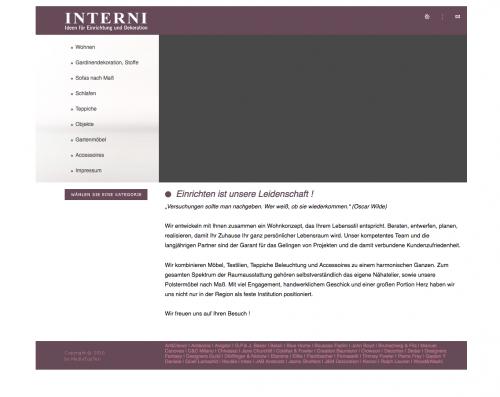 Firmenprofil von: Schöner Wohnen – Interni GmbH in Essen