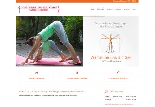 Firmenprofil von: Professionelle Physiotherapie bei Gabriele Heinemann in Quickborn