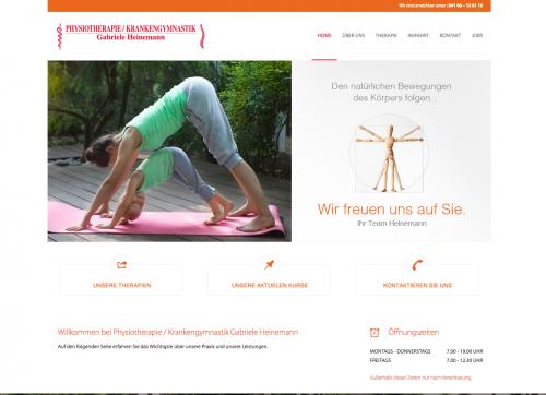 Firmenprofil von: Physiotherapie Heinemann in Quickborn