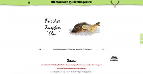 Firmenprofil von: Restaurant Hubertusgarten in Dresden