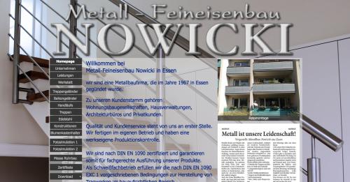 Firmenprofil von: Metallbau in Essen