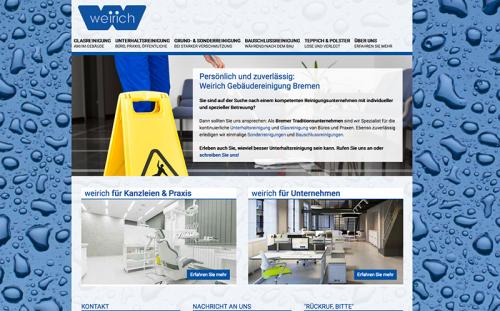 Firmenprofil von: Weirich Gebäudereinigung in Bremen - Hastedt